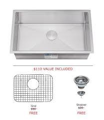 27 inch undermount kitchen sink 27 inch kitchen sink kralsu sink and faucet supplies