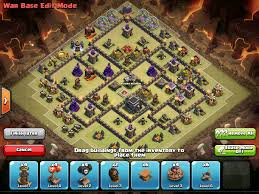 image clash of clans xbow th9 real anti 3 star war base explained