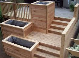 deck planter box ideas how to make wooden planter boxes