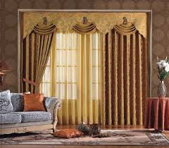 Yellow Brown Curtains Sheer Curtain Ideas For Living Room Ultimate Home Ideas