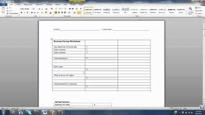Company Budget Template How To Create A Business Startup Budget Youtube