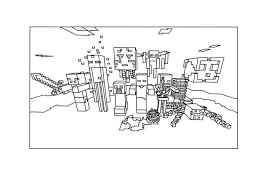 free printable minecraft mobs coloring pages bltidm
