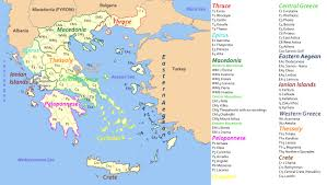 Athens Greece Map by Defc Digitizing Early Farming Cultures