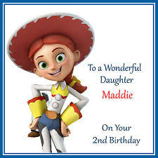 toy story personalised hand made cards ebay
