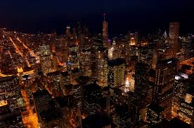 photo of the day night view from willis tower u2013 chicago usa