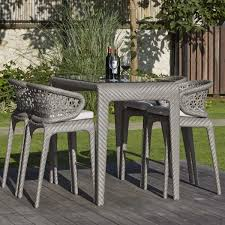 Outdoor Bar Table Set Journey Outdoor Bar Table Set Katzberry Home Decor
