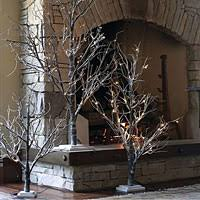 Lighted Branch Tree 3 Foot Pre Lit Christmas Tree Several Window Trees Can Be Faced