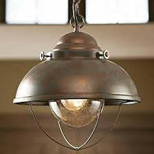 Fishermans Pendant Light Grand River Lodge Fisherman S Pendant Light Weathered Copper