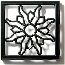 radial sun grille architectural grilles pineapple grove designs
