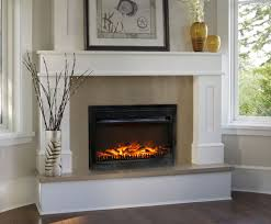 Electric Fireplace With Mantel Paramount Ef 125 13 25 U201d Retrofit Electric Fireplace Insert