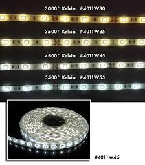 led daylight strip light led tape light 5500 degree kelvin daylight
