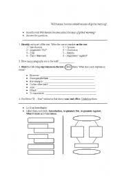 Global Warming Worksheet Worksheets Will Humans Become Extinct Because Of Global