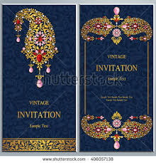 indian wedding cards online free wedding invitation card abstract background islam stock vector