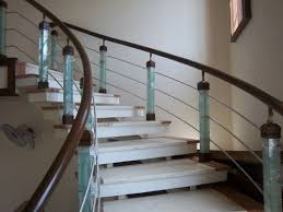 Glass Stair Banisters Hand Rails Different Types A2z4home