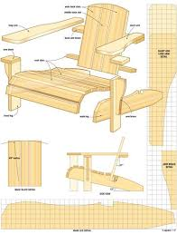 Wooden Deck Chair Plans Free by 135 Best Stoelen Images On Pinterest Chairs Woodwork And Projects