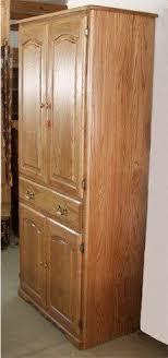kitchen pantry cabinet oak oak pantry storage cabinet ideas on foter in 2021 pantry