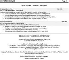 Call Center Resume Sample Call Center Resume Examples Experienced Telemarketer Resume