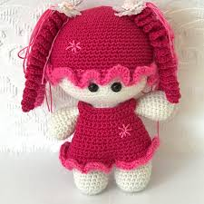 baby girl crochet newborn baby girl crochet handmade set with a matching doll