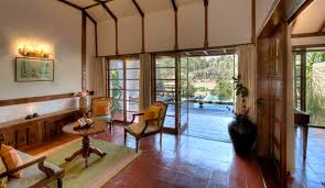 cottage livingrooms luxury lily pool cottages in coorg cottages with private pool in