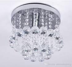 Ceiling Mount Chandelier Light Fixture Mini Style 1 Light Flush Mount Chandelier Spiral Drop