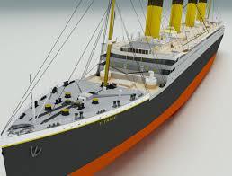 titanic 3d models download 3d titanic available formats c4d