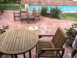 Refinishing Patio Furniture by Refinishing Teak Outdoor Furniture Wilson Painting