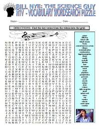 nye the science guy music 2 pack video worksheets sub plans