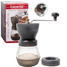 amazon com manual coffee burr grinder the original evengrind w