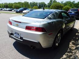 chevrolet camaro used 2015 used chevrolet camaro 2dr coupe lt w 1lt at chevrolet of