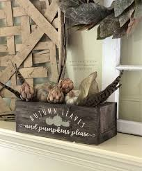 Small Wooden Boxes For Centerpieces by Fallidays Framed Wood Sign Lazy Susan Or Centerpiece Box Workshop