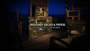 Designer Decks And Patios by Guys Hill Landscaping