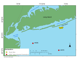 Map Showing New York by Usgs Ofr 2014 1159 Coastal Change Processes Project Data Report