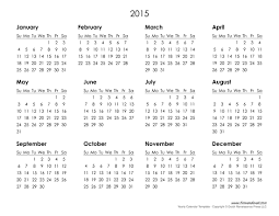 printable calendar year 2015 2015 printable calendar template vastuuonminun