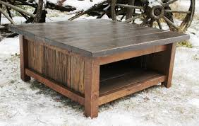 Rustic Square Coffee Table Rustic Coffee Table Set Bed And Shower Country Style Rustic