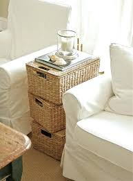 Storage Side Table White Coffee Table With Storage Coffee Table With Storage Drawers