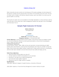 Sample Resume Objectives For Training by Example Resume Certificates And Training For Objective Flight