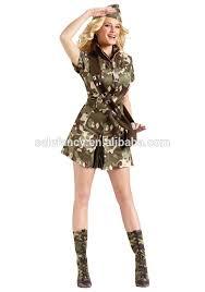 Military Halloween Costumes Women Army Dance Costume Army Dance Costume Suppliers Manufacturers