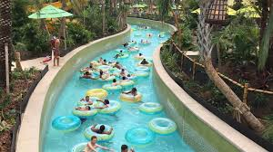 Backyard Pool With Lazy River by Cruising The Rivers Of Volcano Bay Orlando Sentinel