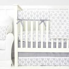 Grey And White Crib Bedding Bumperless Crib Bedding Sets Caden Lane