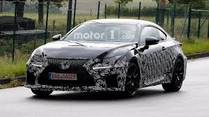 lexus motor yamaha lexus spied prepping updated rc f possible engine update
