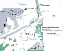 tpwd south bay paddling trail paddling trails