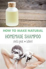 how to make homemade shampoo wellness mama