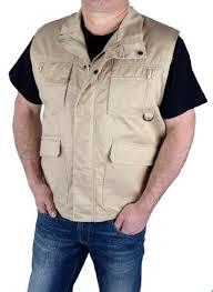 outdoor safari vest multifunction multi pocket waistcoat