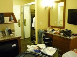 Comfort Inn Gaslamp Convention Center Visao Geral Do Quarto Obs Pequena Cozinha Ao Lado Da Cama Com