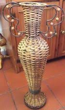 Large Wicker Vases Wicker Next Decorative Vases Ebay