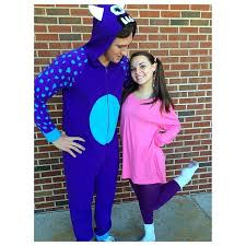 Boo Monsters Halloween Costume Sulley Boo Disney Couple Costumes Disney Couples Costumes