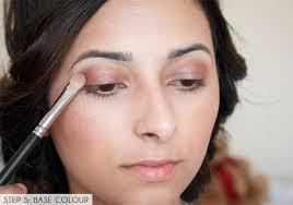 brown eyes pictures festival makeup tutorial glowing skin and pink smokey eye