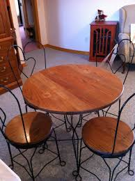 ice cream parlor table and chairs set antique ice cream parlor table and chair for sale at the barker