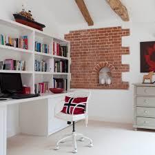 bureau bibliotheque un bureau contemporain blanc à bibliothèque intégrée oh captain