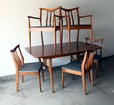 danish modern dining room furniture 1960s mid century modern dining set table and chairs manly vintage